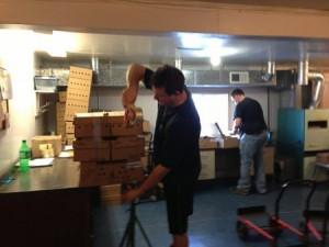 preparing chicks for mailing
